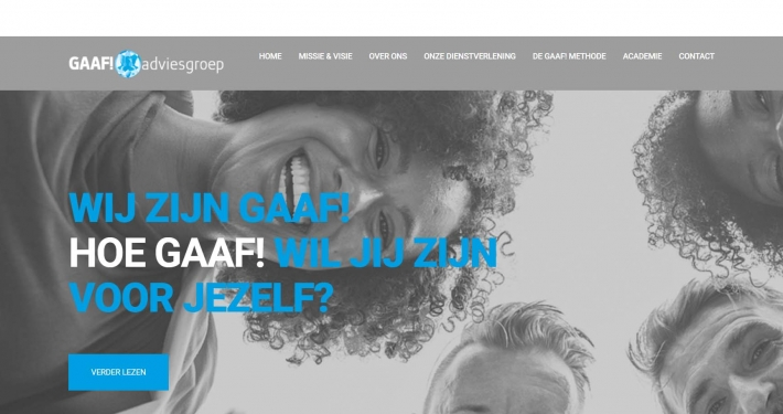 Website gaafadviesgroep.nl