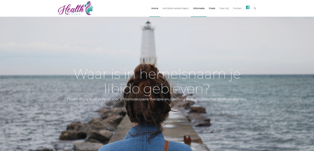 Website healthenjoy.nl