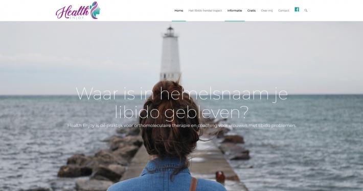 Website healthenjoy.nl