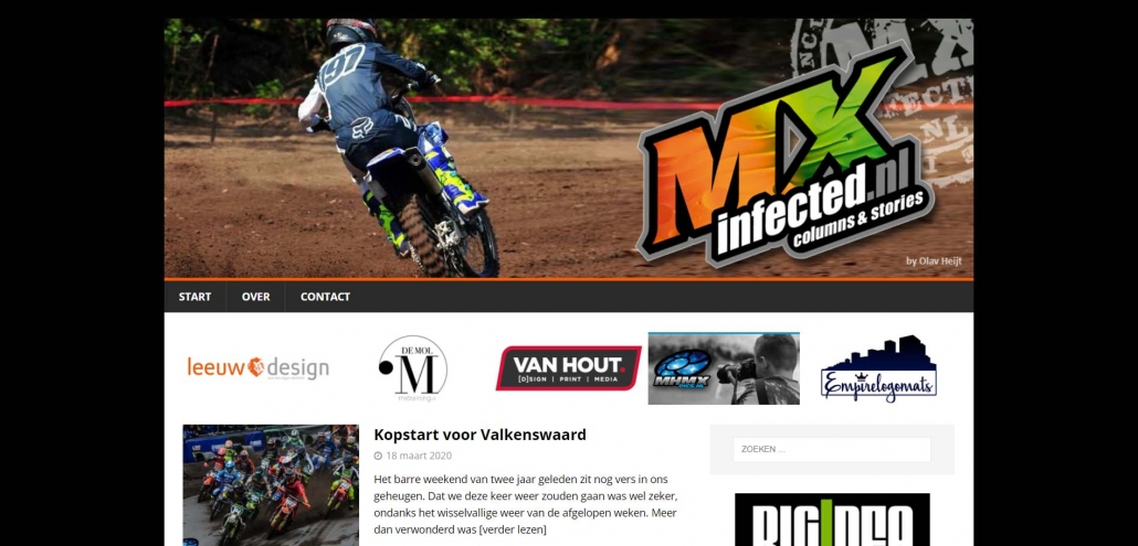 Website mxinfected.nl