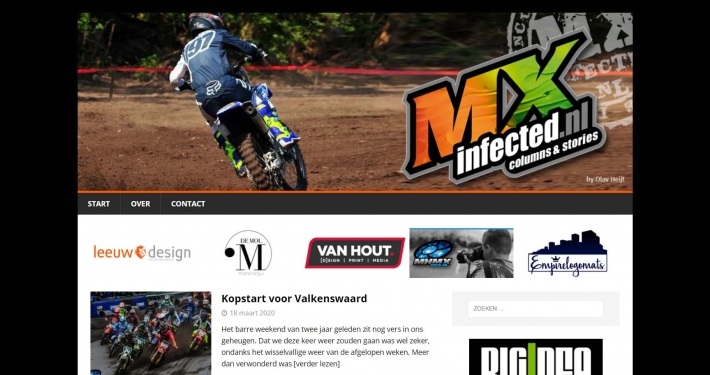 Website mxinfected.nl