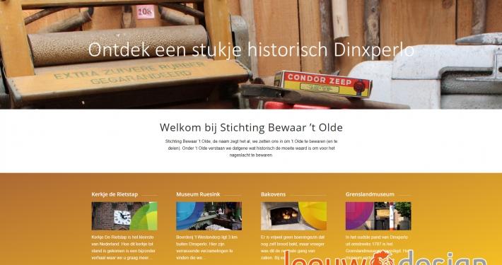 Website bewaartolde.nl