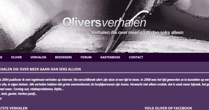 Website oliversverhalen.nl