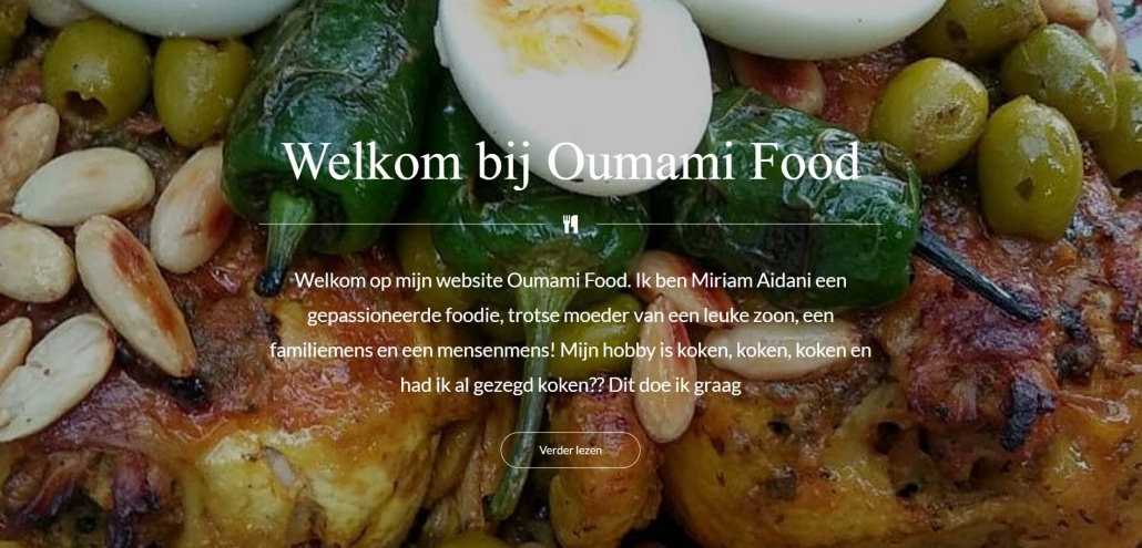 Website oumamifood.nl