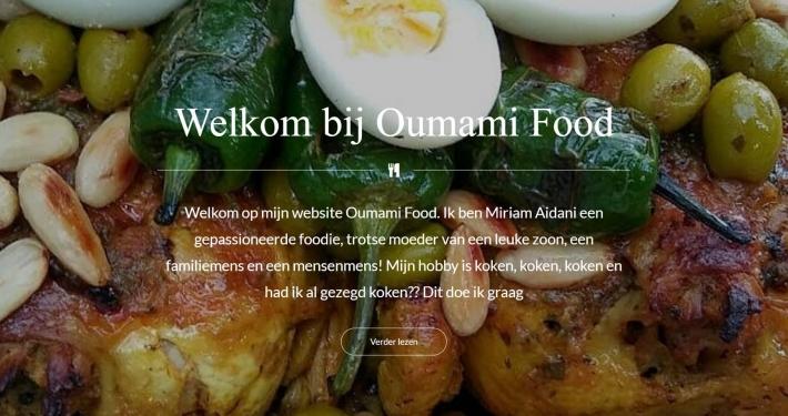 Website oumamifood.nl