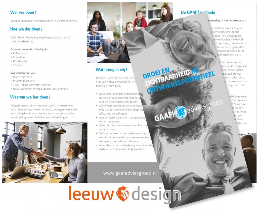 Brochure GAAF! adviesgroep