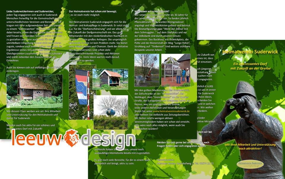 Brochure Heimatverein Suderwick