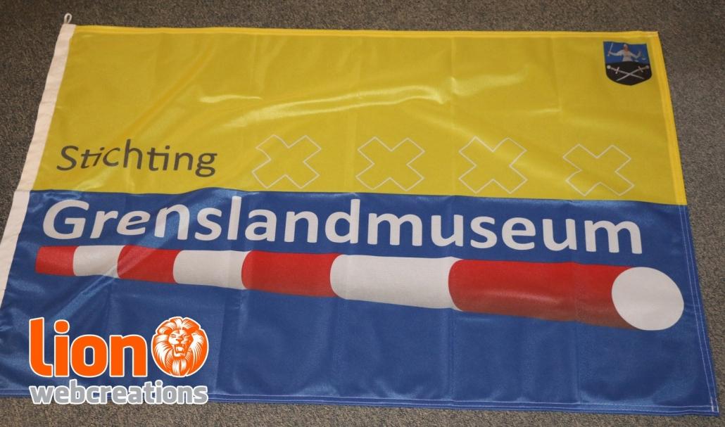 Vlag Grenslandmuseum